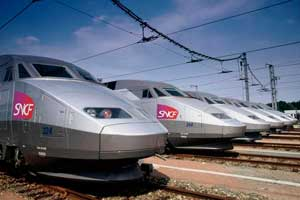 Clases del Tren TGV