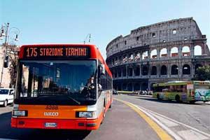 Transporte Publico en Roma