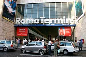 Estaciones de tren en Roma
